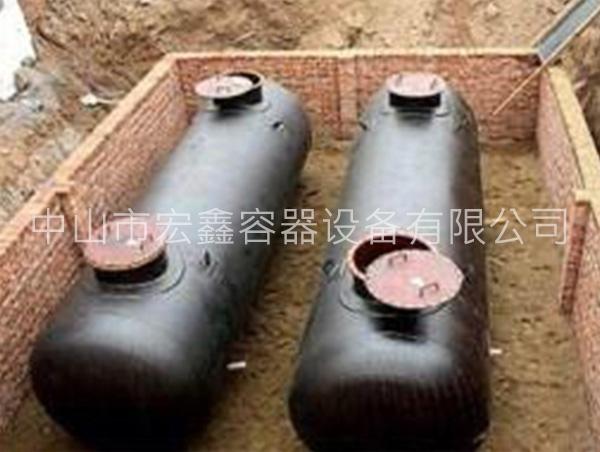 大型油罐厂家谈谈地埋式双层罐的安全性能