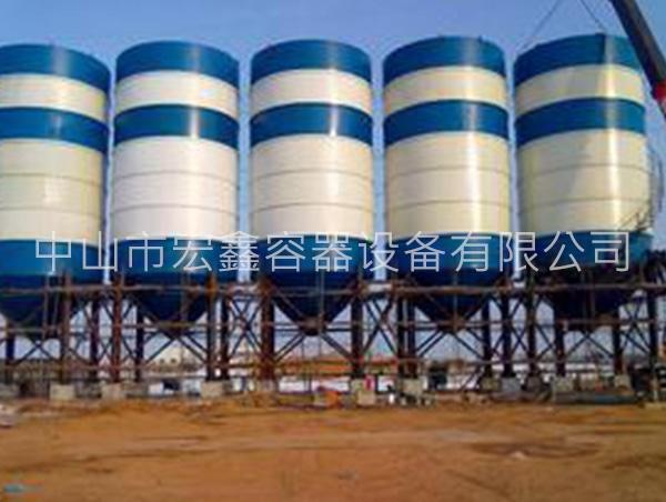 水泥罐的组成部分和结构特点