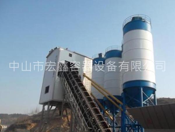 水泥罐生产厂家介绍:混凝土搅拌站如何提高效率
