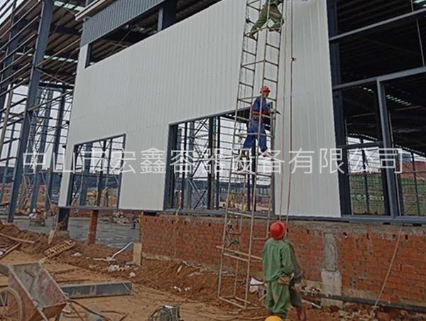 中山钢结构建筑案例