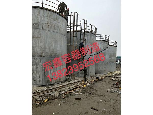 深圳立式锥底储罐