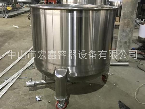 中山大型不锈钢油罐